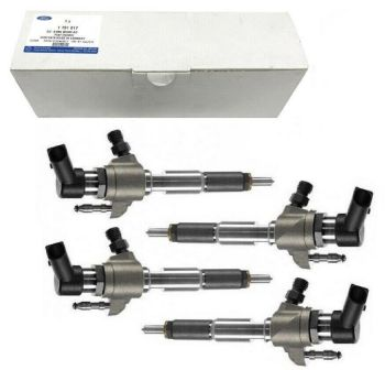 4 X GENUINE INJECTOR FITS PEUGEOT PARTNER TEPEE 1.6 HDI 2011 ON