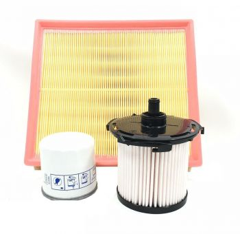 BRAND NEW FORD TRANSIT FILTER SERVICE KIT OIL AIR FUEL 2.2 FWD 2014 ON