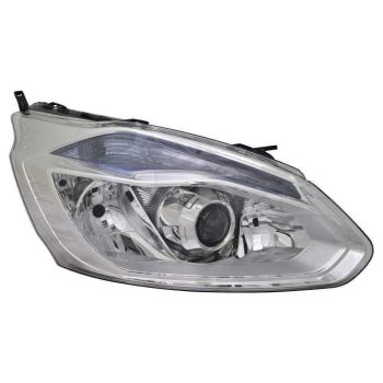 TRANSIT CUSTOM HEADLAMP WITH DAY TIME RUNNING LIGHT SILVER RIGHT SIDE LHD
