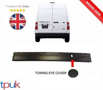 BRAND NEW FORD TRANSIT CONNECT MK1 REAR BUMPER 2002-2009 W/O SENSOR HOLES