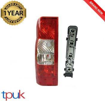 FORD TRANSIT VAN MK7 REAR LIGHT LENS LAMP PASSENGER LEFT SIDE WITH BULB HOLDER