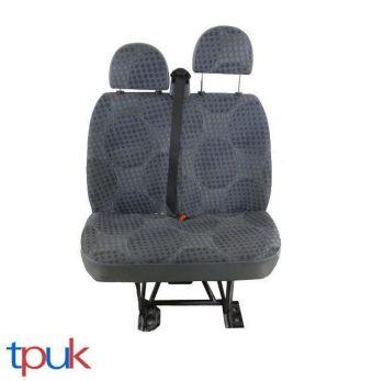 FORD TRANSIT MK7 LEFT DOUBLE SEAT FRONT PASSENGER BUBBLE PATTERN FITS MK6