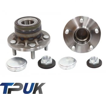 FORD TRANSIT CONNECT REAR HUB WHEEL BEARING NUT COVER STUDS X2 2002 - 2013 PAIR