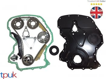 LAND ROVER DEFENDER TIMING CHAIN KIT 2.4 2006 ON FRONT COVER / GASKET CRANK SEAL