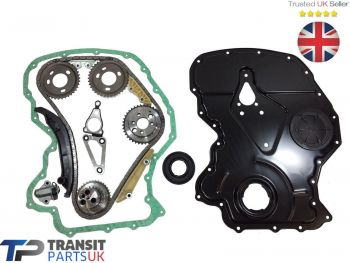 LAND ROVER DEFENDER TIMING CHAIN KIT 2.2 2011 ON FRONT COVER / GASKET CRANK SEAL