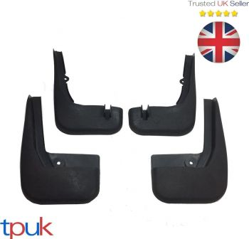 A FULL SET OF FORD TRANSIT CONNECT FRONT & REAR MUDFLAP MUD FLAP MUDFLAPS